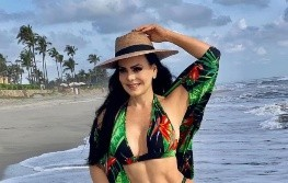 Maribel Guardia paraliza las redes sociales en look playero